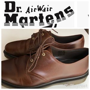 Dr. Martens Brown Leather Casual Oxford Shoe-11
